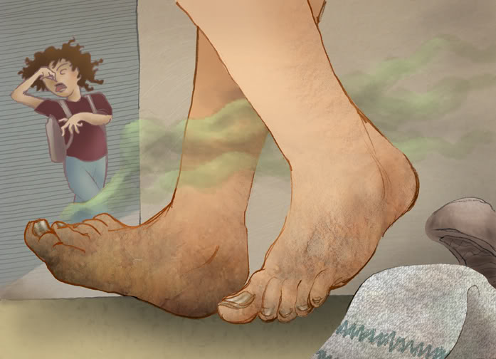 фото девушек вонючие ножки