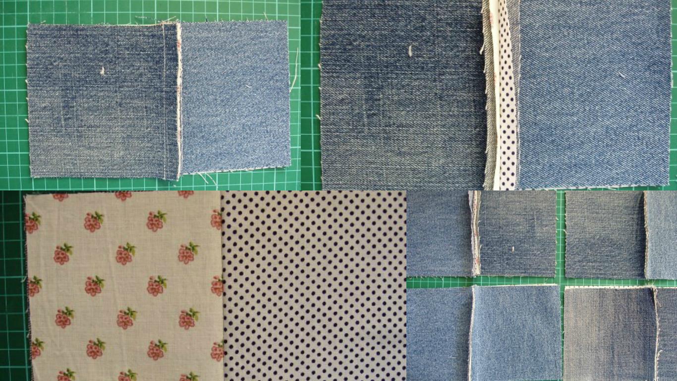 Как сшить покрывало из старых джинсов: Мастер класс в схемах